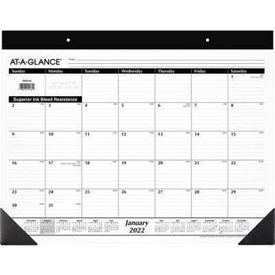 ACCO At-A-Glance Monthly Desk Pad (SK22-00)