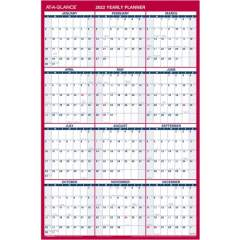 AT-A-GLANCE Erasable/Reversible Yearly Wall Planner (PM2628)