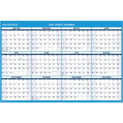 ACCO At-A-Glance Jumbo Erasable Yearly Wall Planner (PM300-28)