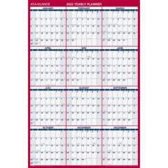 AT-A-GLANCE Jumbo Erasable/Reversible Yearly Wall Planner (PM32628)