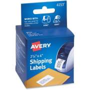 "Avery Thermal Roll Labels 2-1/8""x4"" , 140 Shipping Labels-1 Roll (4153)"