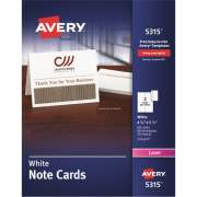 Avery Laser Greeting Card - White (5315)