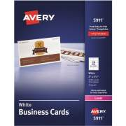 Avery Laser Print Business Card (5911)