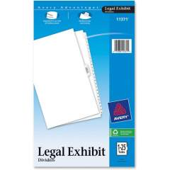 Avery Premium Collated Legal Exhibit Dividers with Table of Contents Tab - Avery Style (11371)