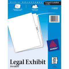 Avery Premium Collated Legal Exhibit Dividers with Table of Contents Tab - Avery Style (11372)