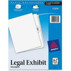 Avery Premium Collated Legal Exhibit Dividers with Table of Contents Tab - Avery Style (11374)