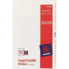 Avery Premium Collated Legal Exhibit Dividers with Table of Contents Tab - Avery Style (11375)