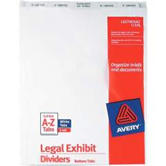 Avery Premium Collated Legal Exhibit Dividers with Table of Contents Tab - Avery Style (11376)