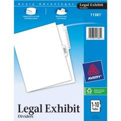Avery Premium Collated Legal Exhibit Dividers with Table of Contents Tab - Avery Style (11381)