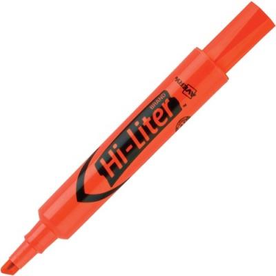 Avery Desk-Style, Fluorescent Orange, 1 Count (24050)