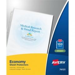 Avery Economy-Weight Sheet Protectors (74101)