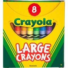 Crayola 8-count Large Crayons (520080)