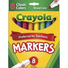 Crayola Classic Colors Broad Line Markers (587708)
