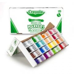 Crayola Broadline Classpack Markers (588201)