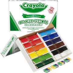 Crayola 240 Count Colored Pencils Classpack - 12 colors (688024)