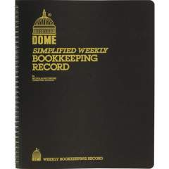 Dome Bookkeeping Record Book (600)