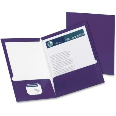 TOPS Oxford Metallic Two Pocket Folders (5049526)