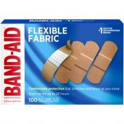 BAND-AID Flexible Fabric Adhesive Bandages (4444)