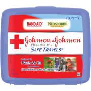 Johnson & Johnson Safe Travels First Aid Kit (8274)
