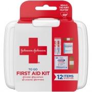Johnson & Johnson 12-piece Mini First Aid Kit (8295)