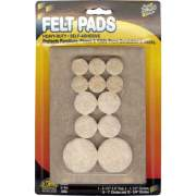 Master Caster Master Mfg. Co Scratch Guard Felt Pads, Combo Pack (88499)