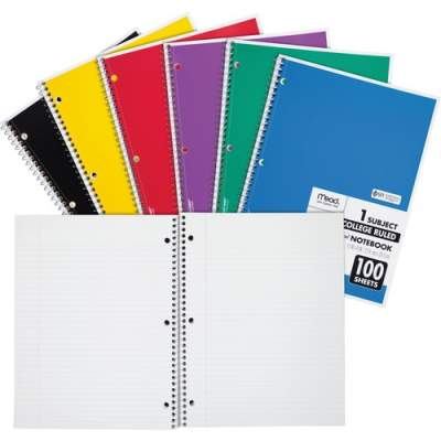 ACCO Mead One-subject Spiral Notebook (06622)