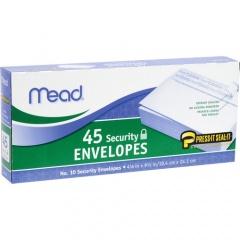 Mead Press-it Seal-it No. 10 Security Envelopes (75206)