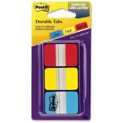 3M Post-it Durable Tabs, 1