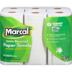 Marcal 100% Recycled, Giant Roll Paper Towels (6181CT)