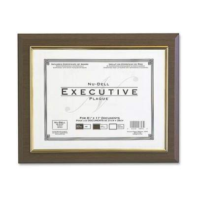 NuDell Nu-Dell Insertable Executive Award Plaque (18851M)