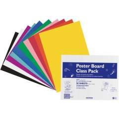 Pacon Poster Board Class Pack (76347)