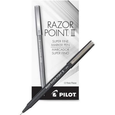 Pilot Razor Point II Marker Pens (11009)