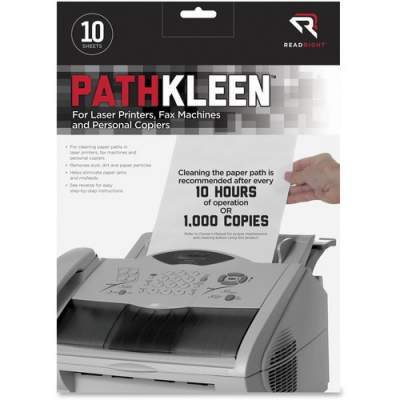 Advantus Read Right PathKleen Paper Path Cleaning Sheets (RR1237)