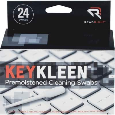 Advantus Read Right Pre-Moistened KeyKleen Swabs (RR1243)