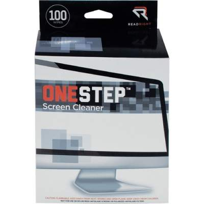 Advantus Read/Right One-Step Screen Cleaning Wipes (RR1309)