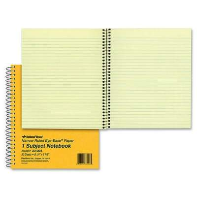 Dominion Blueline Rediform Brown Board 1-Subject Notebooks (33004)