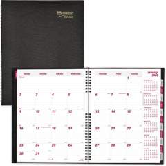 Brownline CoilPro Hard Cover 14-Month Planner (CB1262C.BLK)