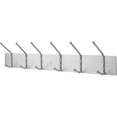 Safco 6-Hook Contemporary Steel Coat Hooks (4162)