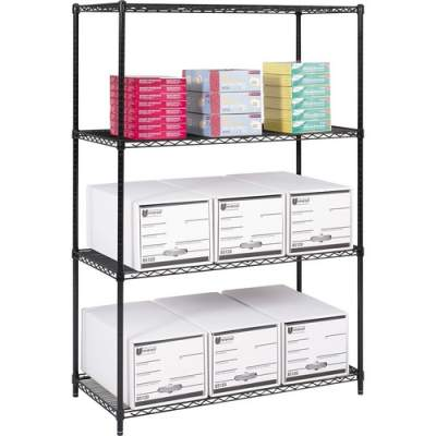 Safco Industrial Wire Shelving (5294BL)