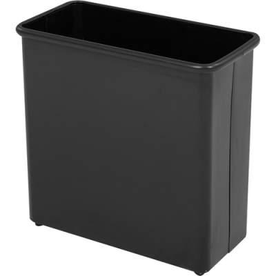 Safco Fire-safe Heavy-duty Rectangular Wastebasket (9616BL)