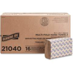 Genuine Joe Multifold Natural Towels (21040)