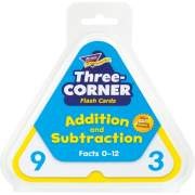 TREND Three-Corner Add/Subtract Flash Card Set (T1670)