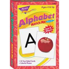 TREND Alphabet Match Me Flash Cards (T58001)