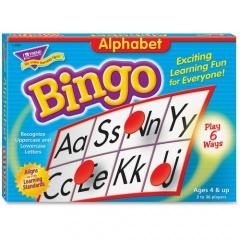 TREND Alphabet Bingo Learning Game (T6062)
