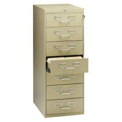 Tennsco Card Files & Media Storage Cabinet (CF-758SD)