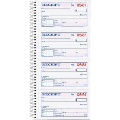TOPS Carbonless 2-part Money Receipt Book (4161)