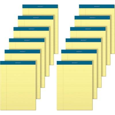 TOPS Docket Letr-Trim Legal Rule Canary Legal Pads (63400)