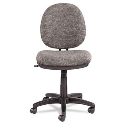 Alera Interval Series Swivel/Tilt Task Chair, Supports up to 275 lbs., Graphite Gray Seat/Graphite Gray Back, Black Base (ALEIN4841)