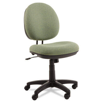 Alera Interval Series Swivel/Tilt Task Chair, Supports up to 275 lbs., Parrot Green Seat/Parrot Green Back, Black Base (ALEIN4871)