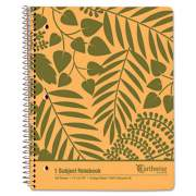 Oxford Earthwise by 100% Recycled Notebooks, 1 Subject, Medium/College Rule, Tan Cover, 11 x 8.88, 100 Sheets (40103)